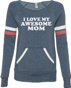 Awesome Mom Tee by Ebollo
